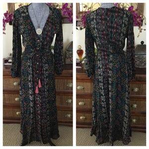 d8b7a72138 Anthropologie Dresses - Anthropologie Raga Yasmin Duster Maxi Dress. NWT.